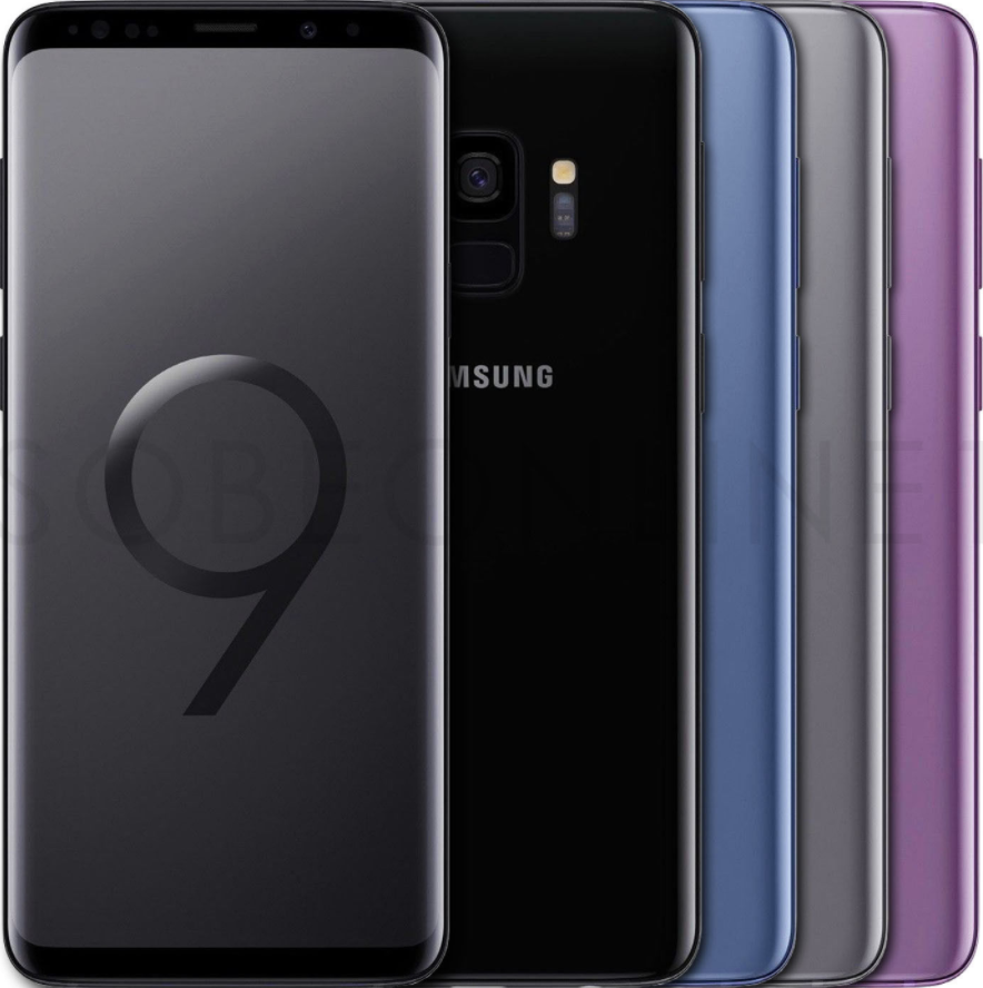 s9 phones in different colors